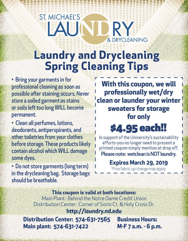 2018 19 Nd Laundry Coupon March